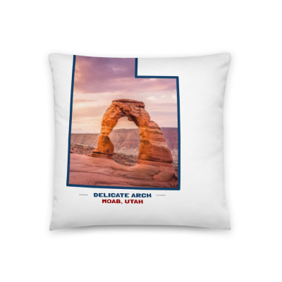 Delicate Arch Pillow