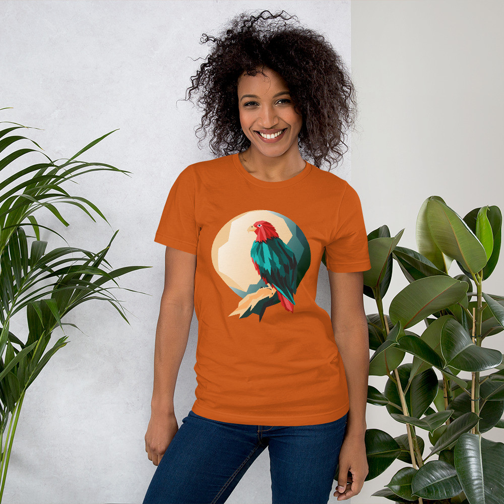 Eagle Art Short-Sleeve Unisex T-Shirt