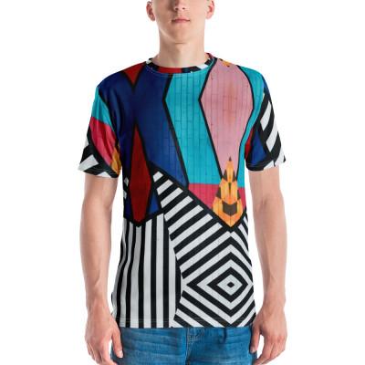 Multi Graffiti Men's T-shirt