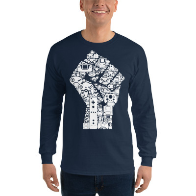 The Gaming Revolution Men's Long Sleeve Shirt