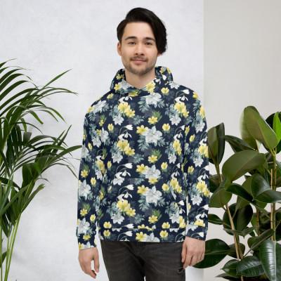 Winter Bloom Unisex Hoodie