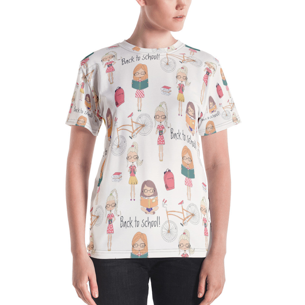 Back To School Women's Short-Sleeve T-shirt