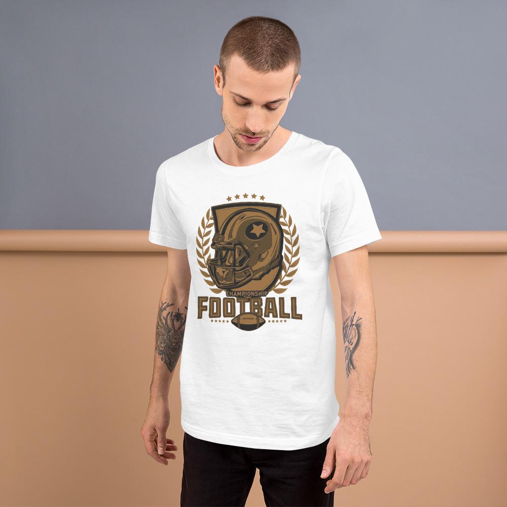 Football Championship Short-Sleeve Unisex T-Shirt
