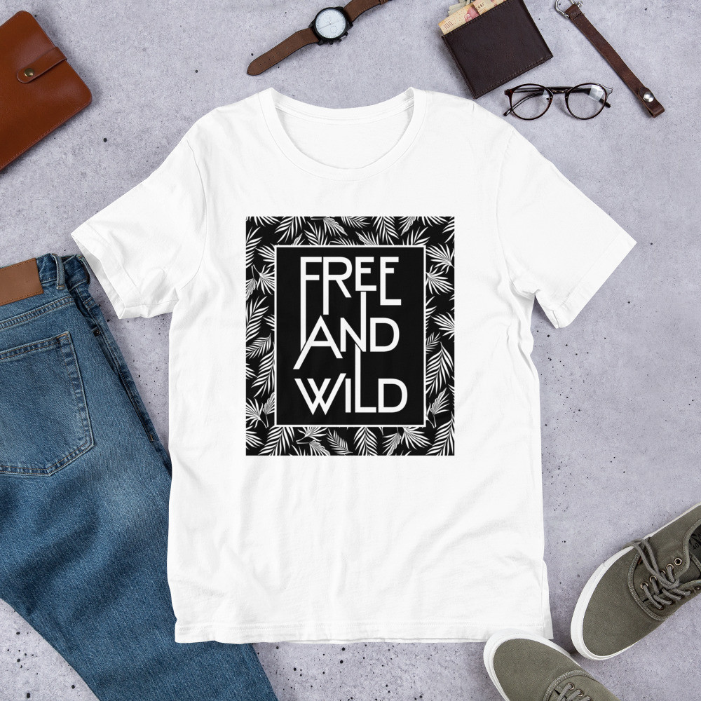 Free And Wild Short-Sleeve Unisex T-Shirt